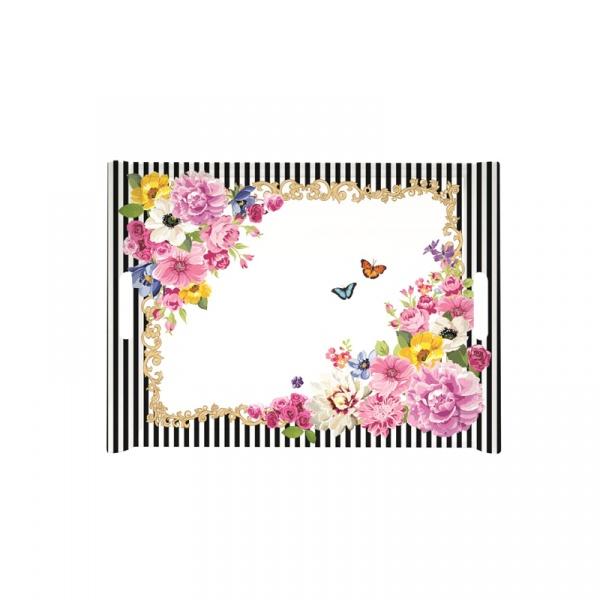 Taca z uchwytami Nuova R2S Flowers Glamour 200 GLUR