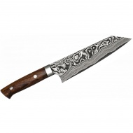 Takeshi Saji IW Ręcznie kuty nóż Bunka 17cm VG-10