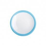 Talerz deserowy 21,5 cm Kahla Update Paint niebieski