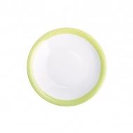 Talerz deserowy 21,5 cm Kahla Update Paint zielony