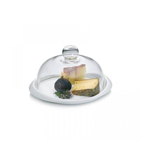 Talerz do serów z pokrywą 27 cm Kela Petit KE-10747