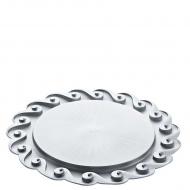 Talerz na ciasto Amadeus srebrny 3628550
