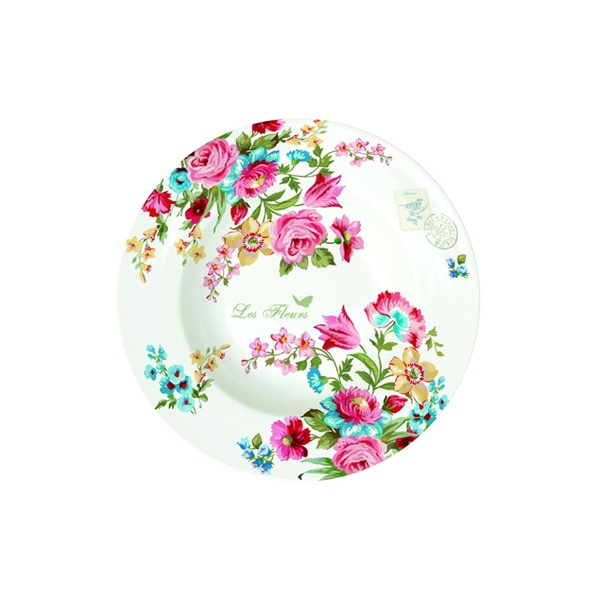 Talerz na zupę 21,5 cm Nuova R2S Jardin Secret 943 JAS