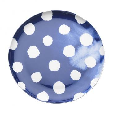 Talerz płytki 21 cm Nuova R2S Indigo niebieski