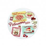 Talerze 4 szt. Nuova R2S Vintage Patisserie
