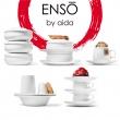 Talerzyk deserowy porcelanowy 19 cm Aida Denmark ENSO A17182