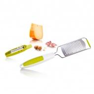 Tarka kuchenna + tarka do gałki muszkatołowej Tomorrows Kitchen biało-zielona