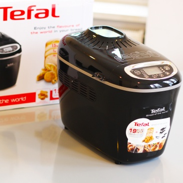 Tefal Wypiekacz do chleba 1600W Bread of the World