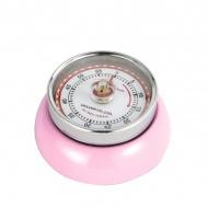Timer mechaniczny 7 cm Zassenhaus Speed różowy