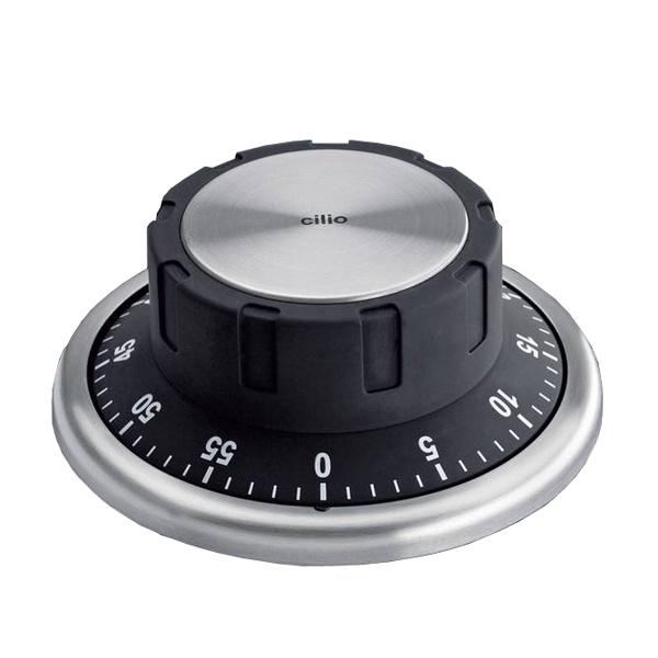 Timer z magnesem Cilio czarny CI-294545