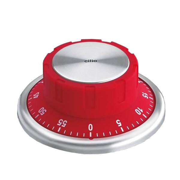 Timer z magnesem Cilio czerwony CI-294552