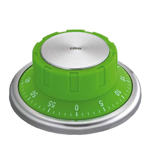 Timer z magnesem Cilio zielony CI-294590