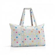 Torba mini maxi travelbag stonegrey dots
