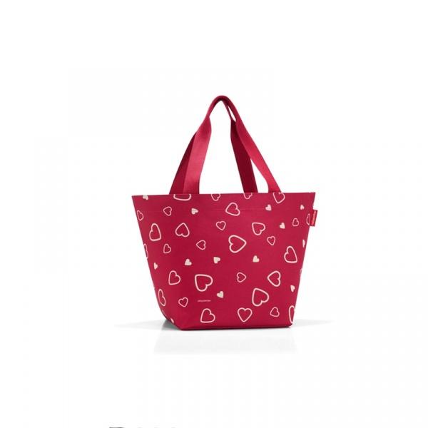 Torba na zakupy Reisenthel Shopper M hearts ZS3050