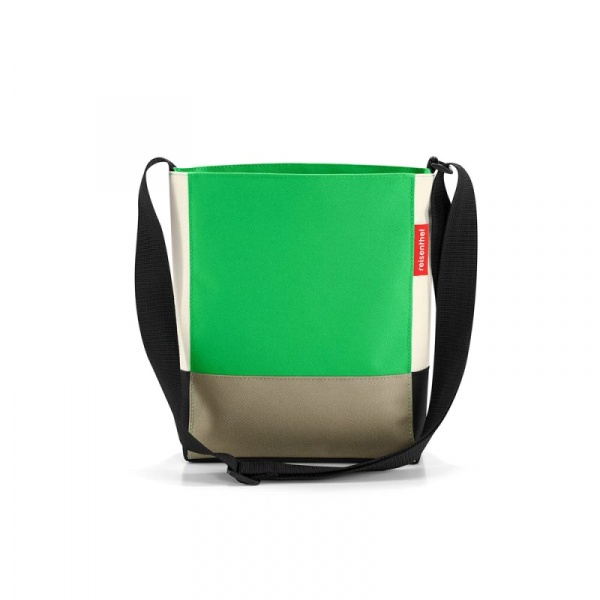 Torba Reisenthel Shoulderbag S patchwork green RHY5032