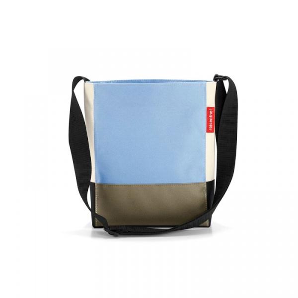Torba Reisenthel Shoulderbag S patchwork pastel blue HY4037