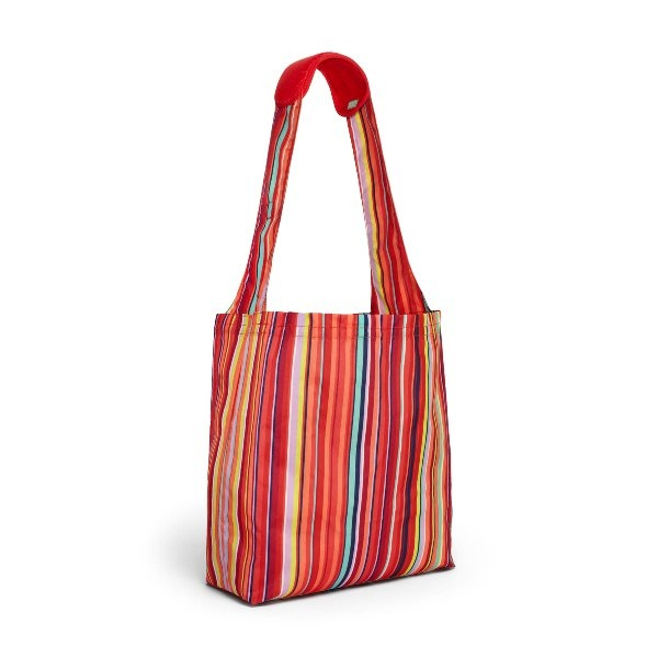 Torba zakupowa z etui BUILT Reusable Shopper Stripe No. 10 CST1-STN