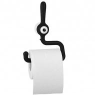 Uchwyt na papier toaletowy Koziol TOQ czarny
