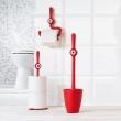 Uchwyt na papier toaletowy Koziol Toq pomarańczowo-czerwony KZ-5234633