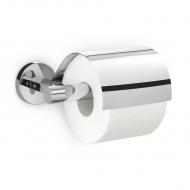 Uchwyt na papier toaletowy z przykrywką 17,5cm Zack Scala srebrny