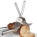 Uchwyt ze szczypcami do krojenia pieczeni Kuchenprofi