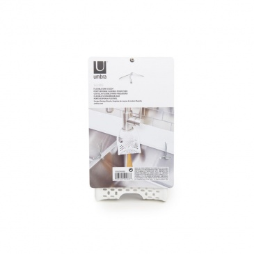 UMBRA – Organizer na gąbkę/szczotkę Caddy, biały