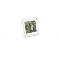 UMBRA - Ramka na zdjęcia 10x10 cm, biała, PRISMA
