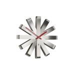 UMBRA - Zegar ścienny stalowy, Ribbon