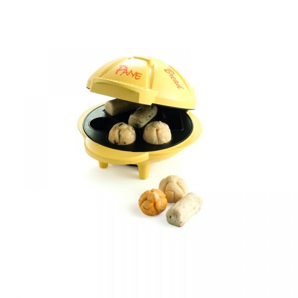 Urządzenie do wypiekania bułeczek Brandani Mr. Panino żółte 55319