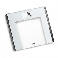 waga łazienkowa obliczająca BMI, do 180 kg, 33 x 30 cm, biała