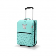Walizka trolley XS kids cats and dogs mint