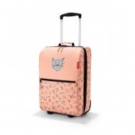 Walizka trolley XS kids cats and dogs rose