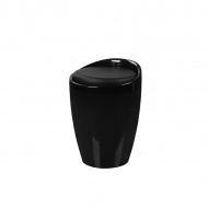 Wielofunkcyjna pufa King Home Tubo czarna