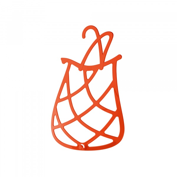 Wieszak na apaszki i akcesoria Koziol It Bag pomarańczowo-czerwony KZ-5688633