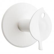 Wieszak na papier toaletowy 13cm Koziol Sense biały