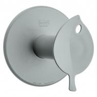 Wieszak na papier toaletowy 13cm Koziol Sense szary
