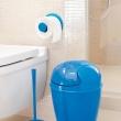 Wieszak na papier toaletowy Koziol Plug'N Roll w kolorze taupe i kamień KZ-5235623