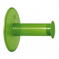 Wieszak na papier toaletowy Koziol Plug'N Roll zielony