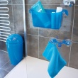 Wieszak na ręczniki Koziol Sven niebieski KZ-3902598