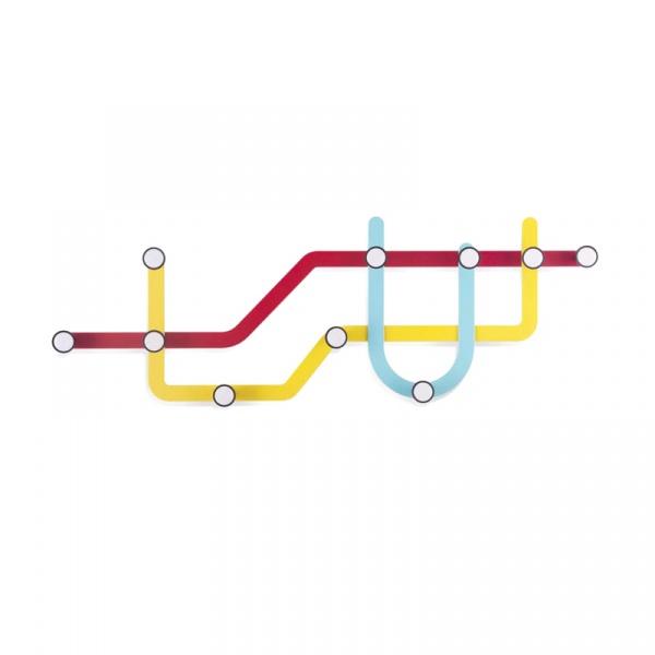 Wieszak Umbra Subway wielokolorowy 318187-370