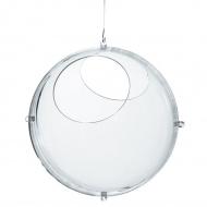 Wiszący pojemnik 30cm Koziol Orion transparentny