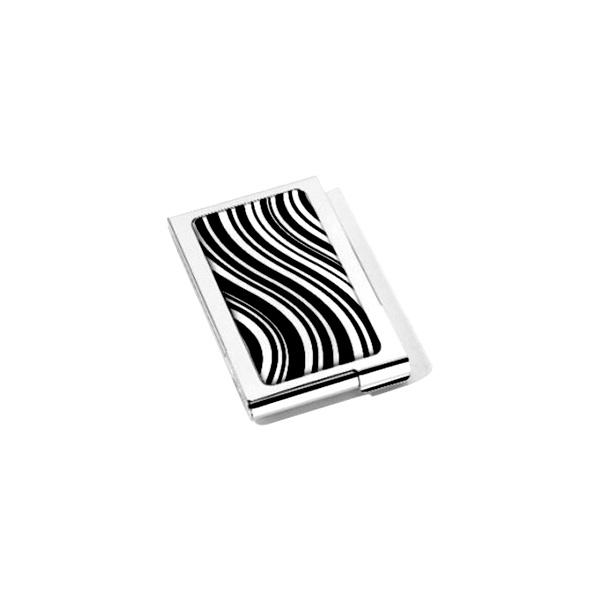 Wizytownik pionowy Troika Black&White CDC04-A022