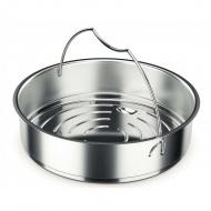 Wkład do gotowania do szybkowaru 22cm Fissler srebrny