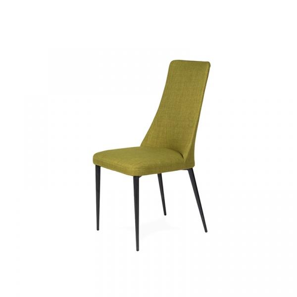 Włoskie krzesło King Bath Nello musztardowy A-099.OLIWKA