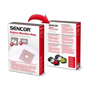 Worki do odkurzacza Sencor SVC 45RD/WH, SVC 52BK/GR/WH Sencor SVC 45/52 worki (5szt.)