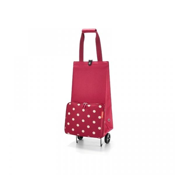 Wózek Reisenthel Foldabletrolley ruby dots RHK3014