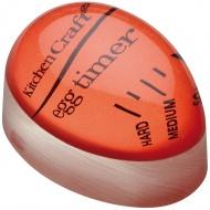 Wskaźnik stopnia ugotowania jajek Kitchen Craft czerwony