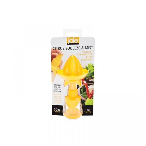 Wyciskacz do cytrusów ze spryskiwaczem 30 ml MSC International żółty MS-29379