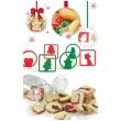 Wykrawarki do ciasteczek Pavoni  CHRISTMASCOOKIES
