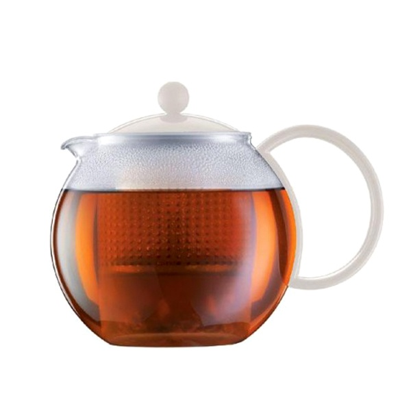 Zaparzacz do herbaty 1 l Bodum Assam biały BD-1844-913